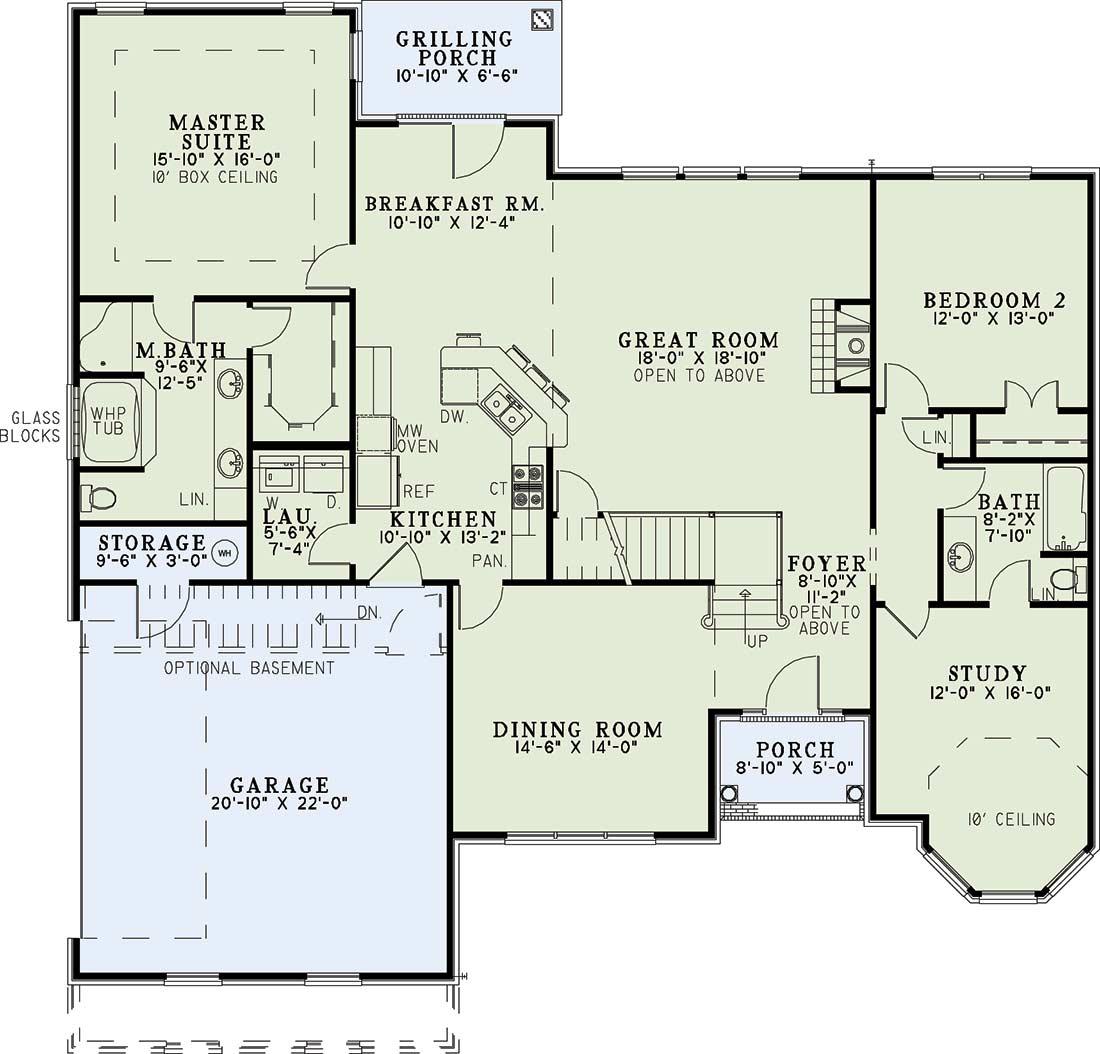 Main Floor Plan: 12-866