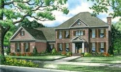 Southern-Colonial Style House Plans Plan: 12-867