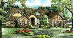 Tuscan Style House Plans Plan: 12-881