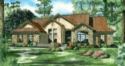 Tuscan Style House Plans Plan: 12-886