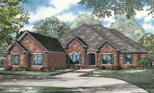 Traditional Style House Plans Plan: 12-888