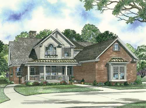 Southern Style Floor Plans Plan: 12-893