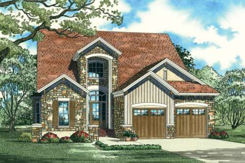 Tuscan Style Floor Plans Plan: 12-894