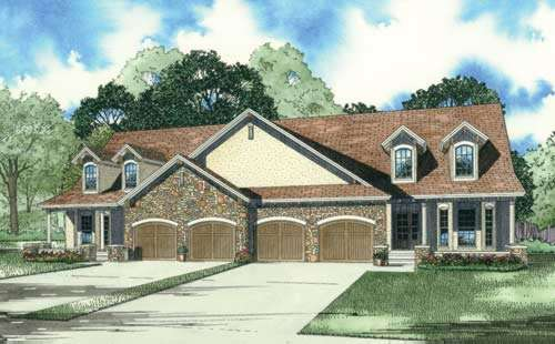 Traditional Style Floor Plans Plan: 12-895