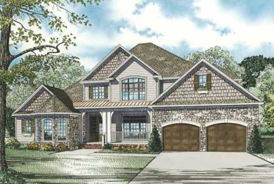 Traditional Style Floor Plans Plan: 12-900