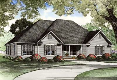 Traditional Style House Plans Plan: 12-992