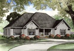 Traditional Style Home Design 12-992