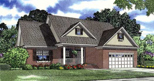Traditional Style House Plans Plan: 12-993