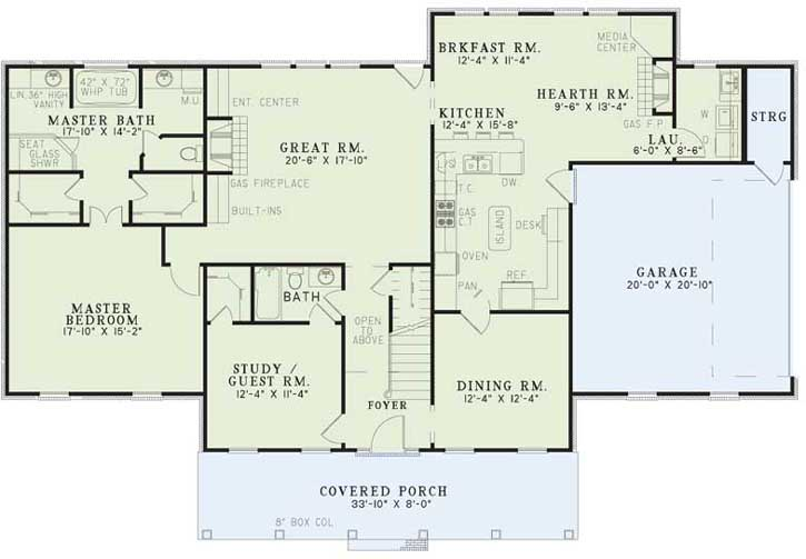 Main Floor Plan: 12-998