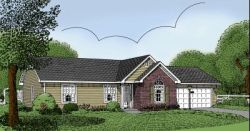 Traditional Style House Plans Plan: 13-101