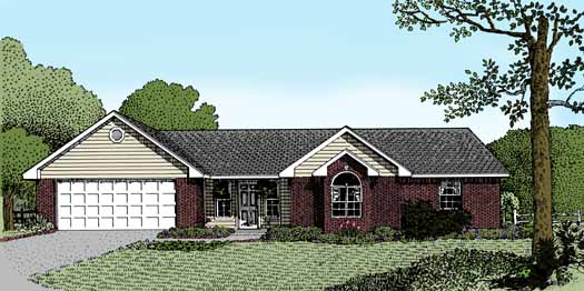 Traditional Style Floor Plans Plan: 13-104