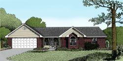 Traditional Style Home Design Plan: 13-104
