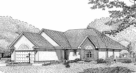 Traditional Style House Plans Plan: 13-105
