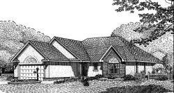 Traditional Style Floor Plans Plan: 13-105