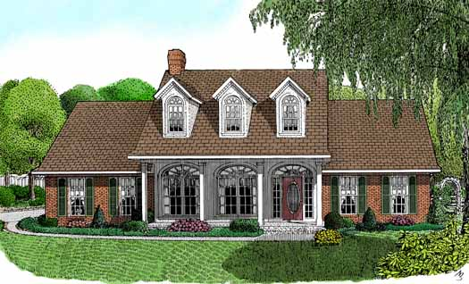 Southern Style House Plans Plan: 13-108