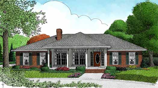 Traditional Style House Plans Plan: 13-109