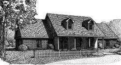 Country Style Floor Plans Plan: 13-113