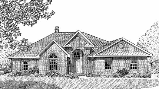 Traditional Style Floor Plans Plan: 13-114
