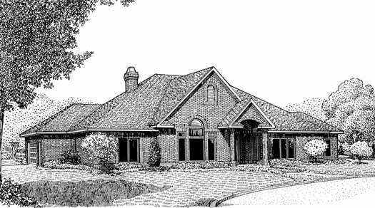 Traditional Style Floor Plans Plan: 13-116