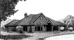 Traditional Style Home Design Plan: 13-116