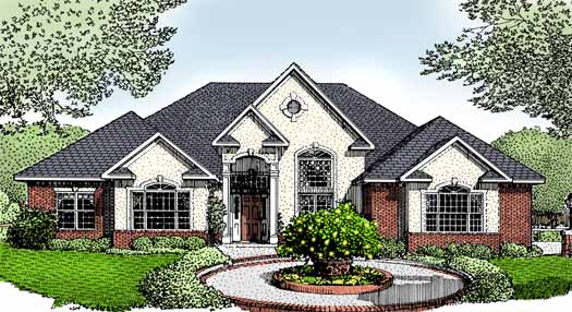 European Style Floor Plans Plan: 13-117