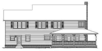 Rear Elevations Plan:13-125