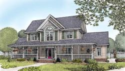 Country Style House Plans Plan: 13-131