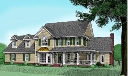 Country Style House Plans Plan: 13-142