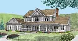 Country Style House Plans 13-143