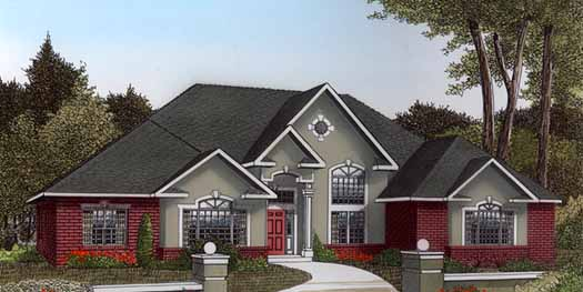 Traditional Style House Plans Plan: 13-146
