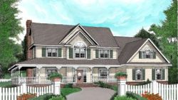 Country Style House Plans Plan: 13-148