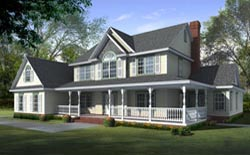 Country Style House Plans Plan: 13-149