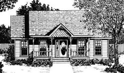 Country Style House Plans Plan: 14-101