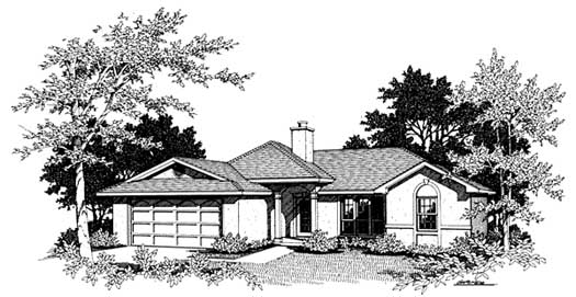 Traditional Style Floor Plans Plan: 14-106