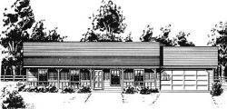 Ranch Style House Plans Plan: 14-107