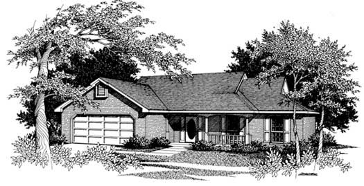 Ranch Style Floor Plans Plan: 14-112