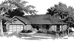 Ranch Style Floor Plans Plan: 14-112