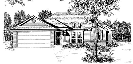 Traditional Style House Plans Plan: 14-113