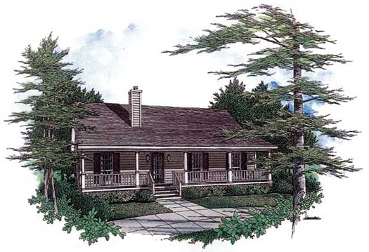 Country Style House Plans Plan: 14-114