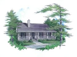 Country Style House Plans 14-114