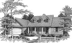 Farm Style House Plans 14-115