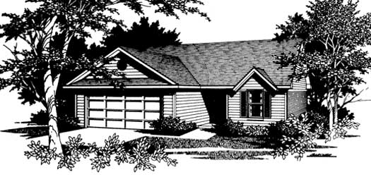 Traditional Style Floor Plans Plan: 14-117