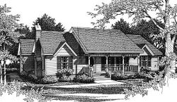Country Style House Plans Plan: 14-119
