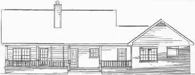 Rear Elevations Plan:14-121