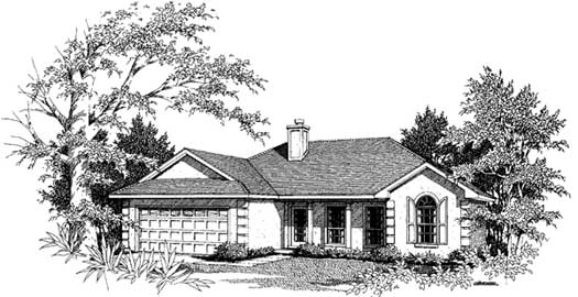 Traditional Style House Plans Plan: 14-124