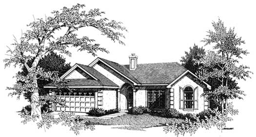 Traditional Style House Plans Plan: 14-125