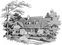 Country Style House Plans Plan: 14-126