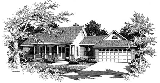 Southern Style Floor Plans Plan: 14-128