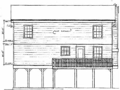 Rear Elevation Plan: 14-129
