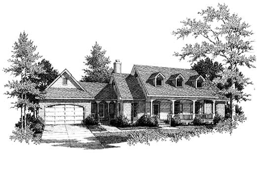 Southern Style House Plans Plan: 14-130